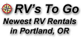 RV's To Go - Newest RV Rentals in Portland, OR